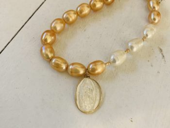 collier perle culture