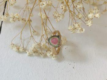 joaillerie tourmaline pastèque