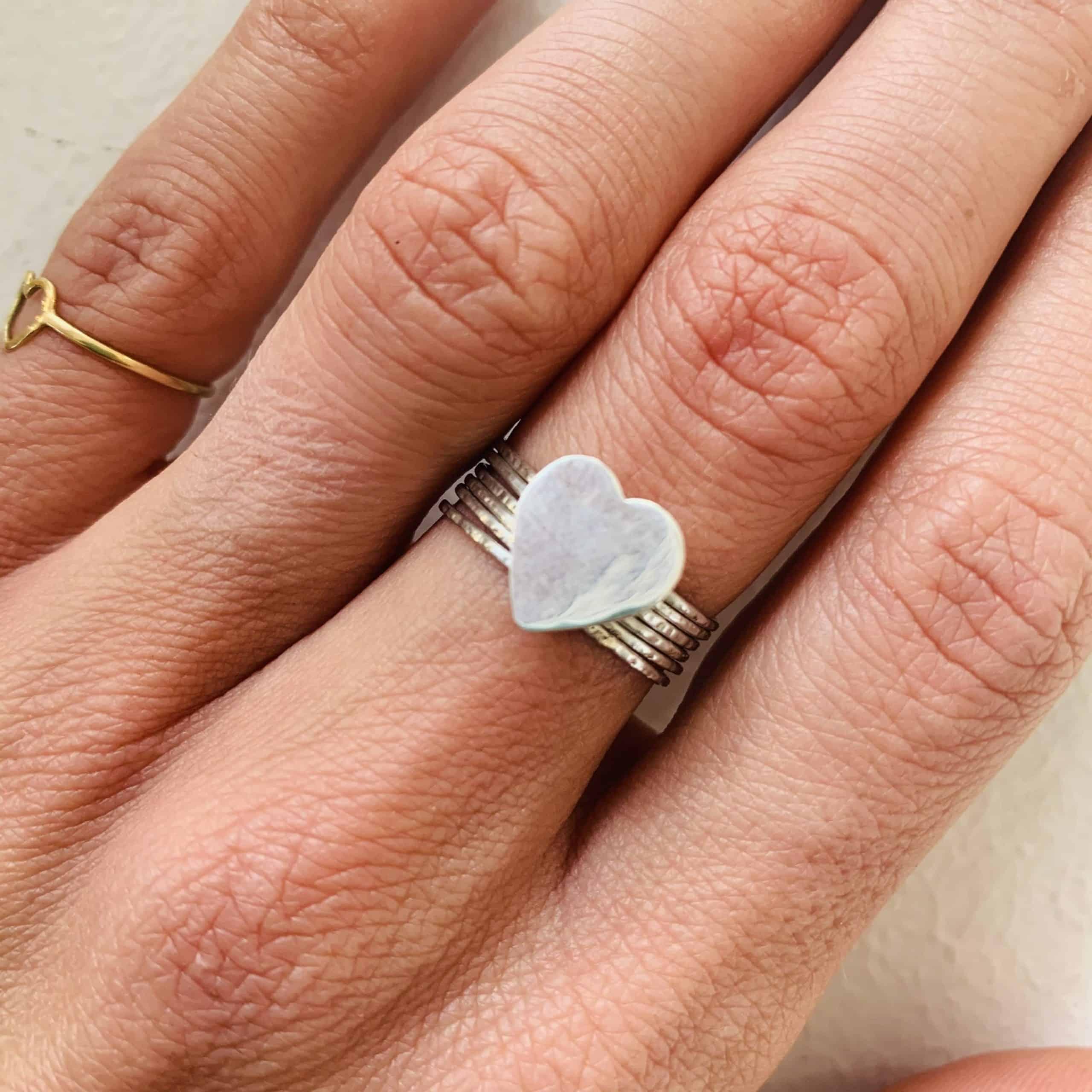 Semainier coeur 1 ,Nynybird créatrice de bijoux